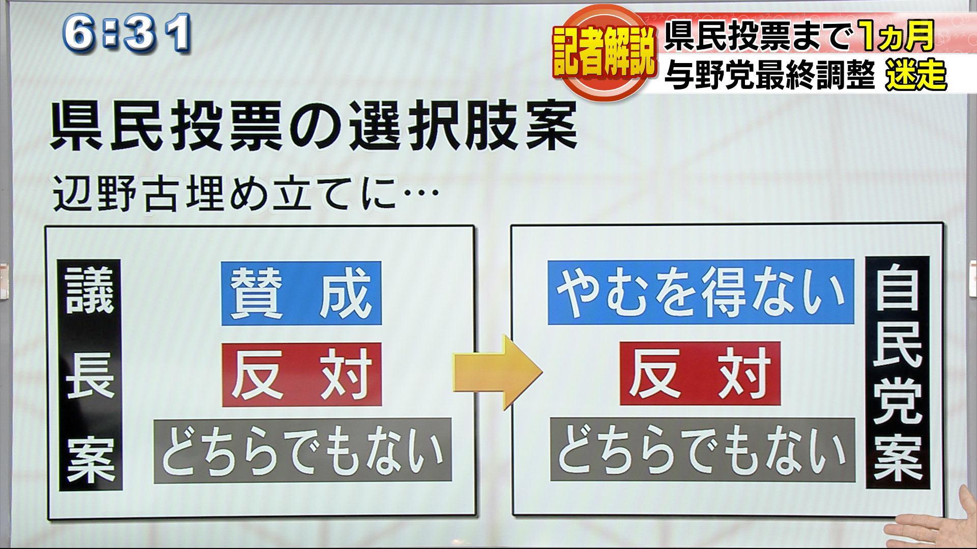 記者解説 3択与野党調整続く 自民党も3択新案提示