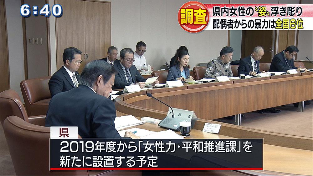 沖縄県男女共同参画行政推進本部会議