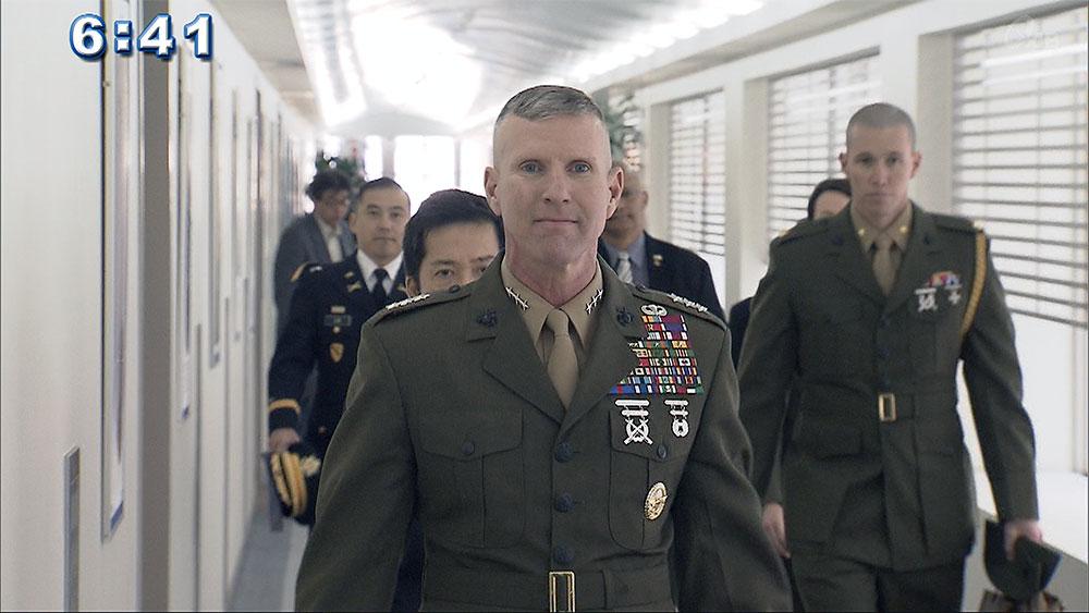 四軍調整官に知事「パラ訓嘉手納基地でしないで」