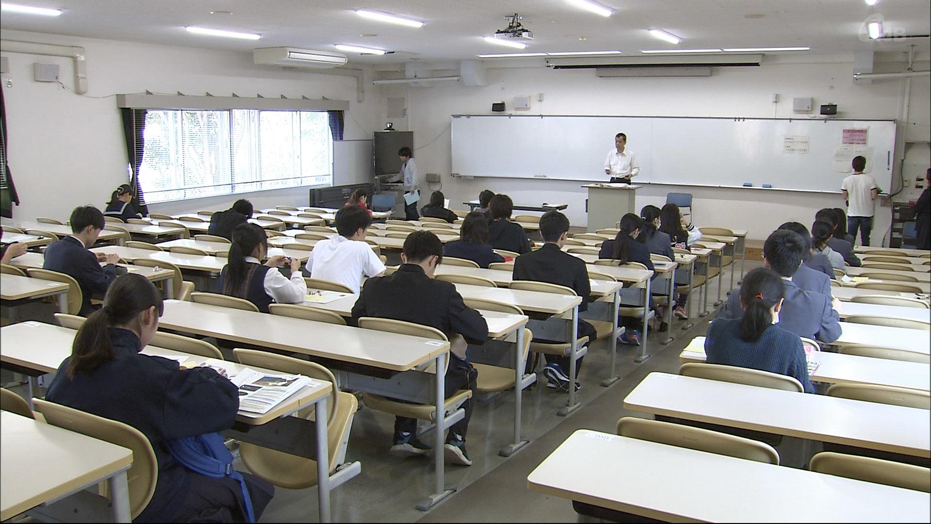 琉球大学一般入試 後期日程始まる