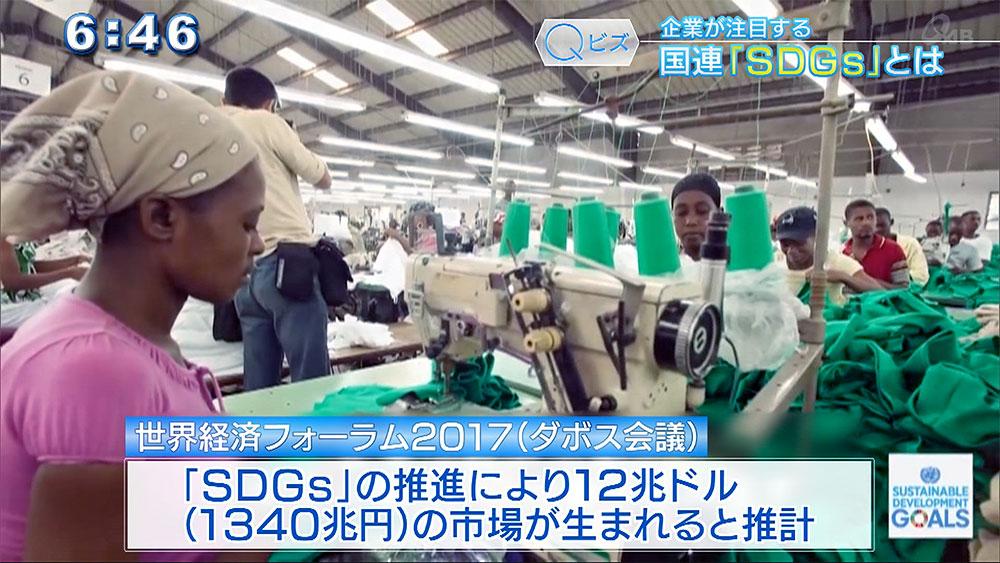 Qビズ 企業が注目する「SDGs」とは? 12兆ドルの新たなビジネスチャンス