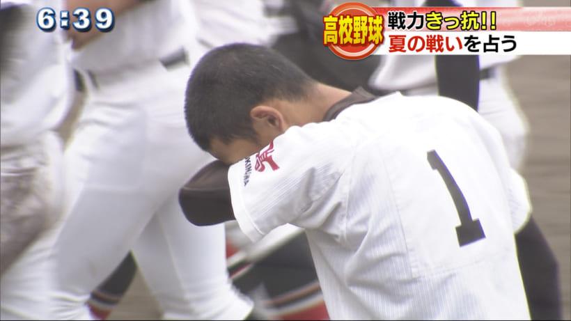 準決勝で敗れた後、その目には悔し涙が。