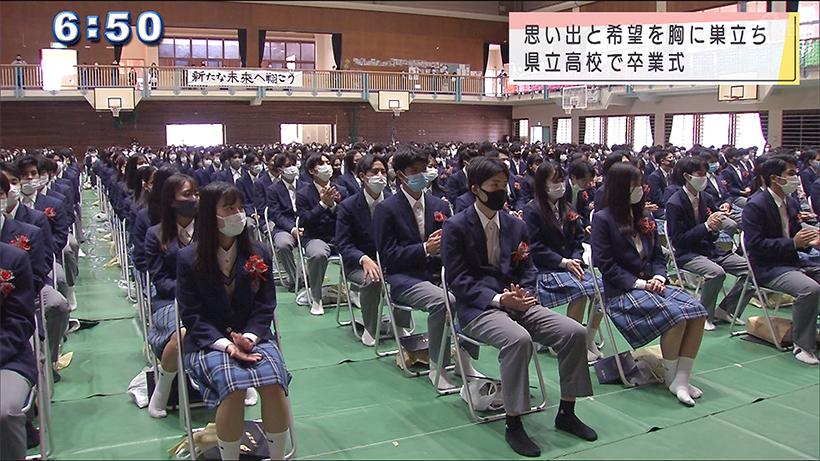 県立高校卒業式