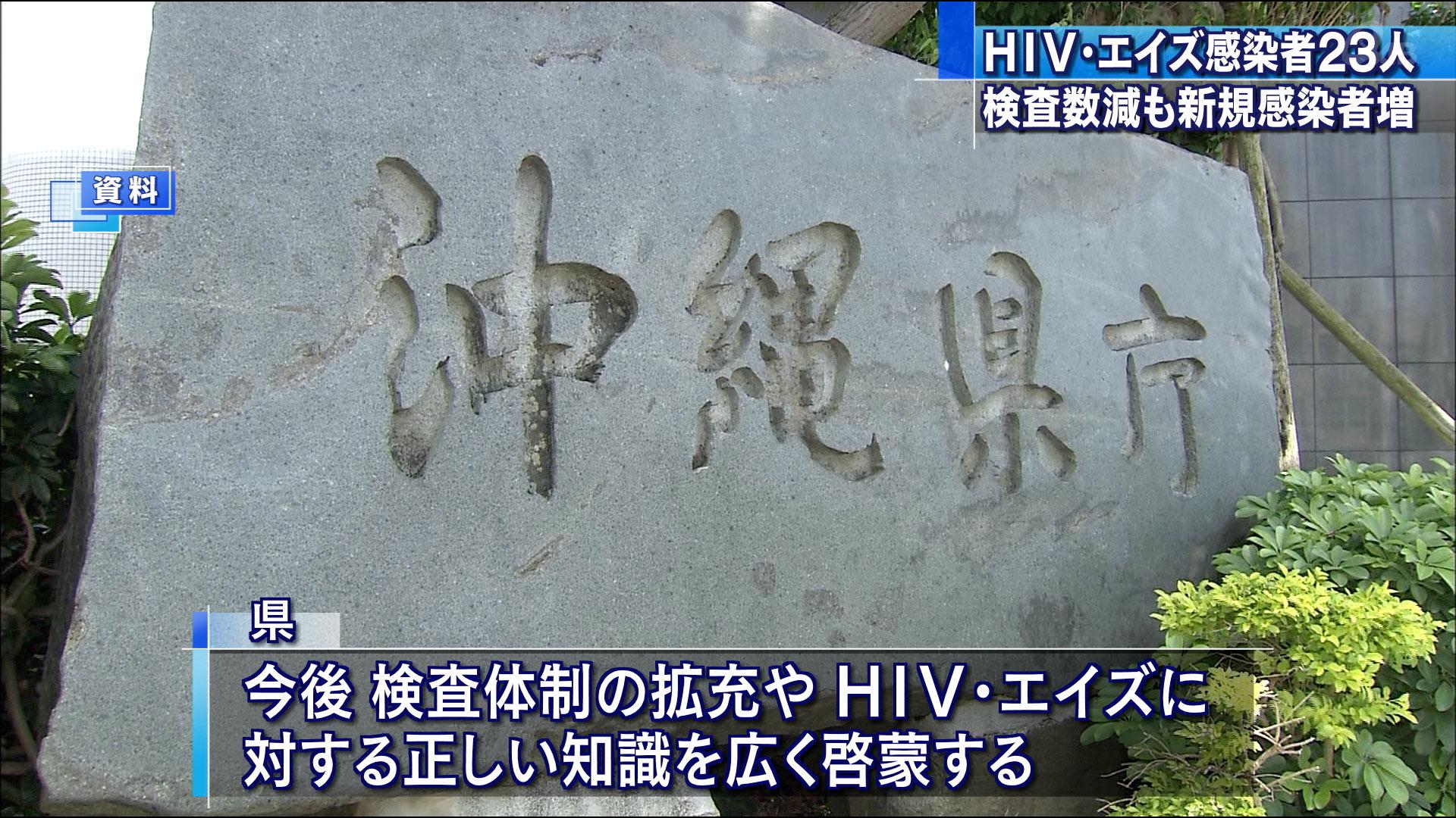 HIV・エイズ 検査数減も新規感染者増加