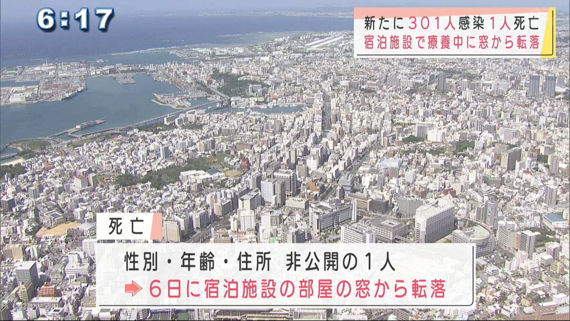 沖縄で新型コロナ新たに301人感染