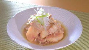 長芋と豚バラのカレーしょう油煮