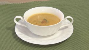 バターナッツパンプキンのスープ