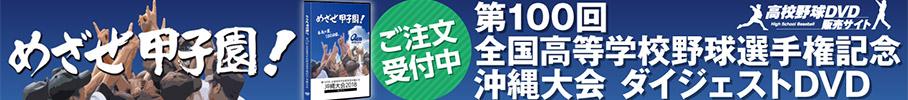 第100回全国高等学校野球選手権記念沖縄大会 ダイジェストDVD