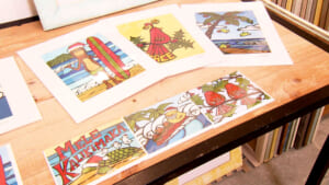 GREENROOM GALLERY「クリスマスホリディ限定 グリーティングカード」