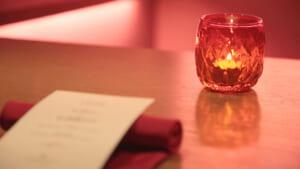 「赤に染まるクリスマス」ディナー